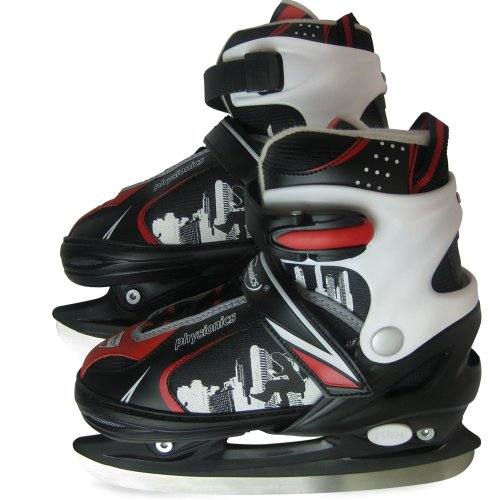 Schlittschuh, verstellbare Eishockeyschlittschuhe -Größenwahl und Farbwahl- -