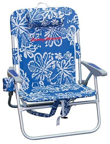 Tommy Bahama Big Boy Rucksack Stuhl, Blau - Blue Print (Rio Stuhl Rucksack)