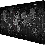 xxxl Tappetino per mouse da gioco 120x40CM Base in gomma antiscivolo Super large - 120x40 Map