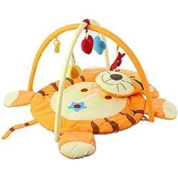 GBlife Alfombra de Juegos para Bebé Manta Gimnasia con el Patrón del Tigre