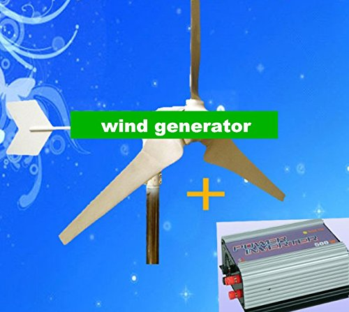 ystem for home using, wind generator +grid tie inverter . output can be AC110V or AC 220V ()