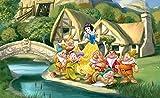 Tapeto Kids papel pintado fotográfico Disney...