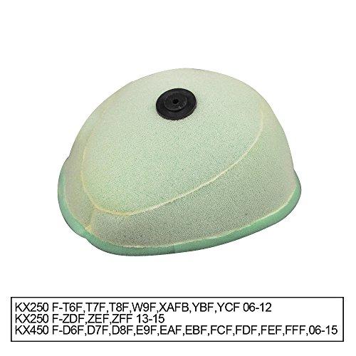 Dual Stage pour filtre à air en mousse pour Kawasaki KX250 F 06-15 KX450 F 06-15