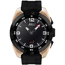 Reloj Inteligente, Water Resistant Bluetooth Smartwatch con Monitor Del Ritmo CardíAco, Fitness Tracker Pulsera con Monitor de Dormir/ Podómetro Para Android y IOS