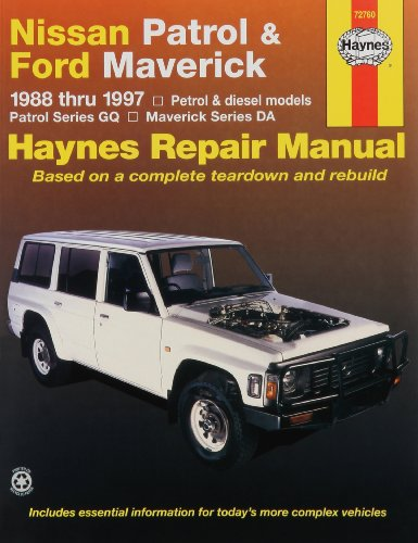 Nissan Patrol and Ford Maverick Australian Automotive Repair: 1988-1997 (Haynes Automotive Repair Manuals)