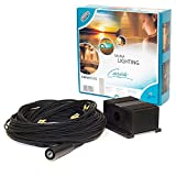 Cariitti Plastikfaser Beleuchtung Set VPAC-1527-N221 für die 5-10 q.m. Dampfbad oder Badezimmer; S-Flex ⌀2mm Fasern: 5 х 3.5 m, 5 х 4 m, 5 х 4.5 m, 5 х 5 m und S-Flex ⌀4mm Faser: 1 x 3.5 m; 16 W IP65 LED-Projektor. Hergestellt in Finnland