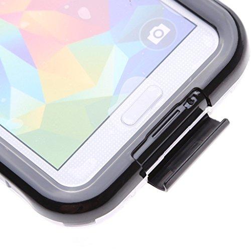 Wecell iPhone 6 / 6S wasserdichtes Outdoor Case Schutzhülle hülle Armor Cover - Weiß Schwarz