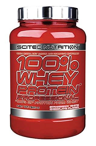 Scitec Nutrition Protéines Whey Protein Professional aux arômes de fraise
