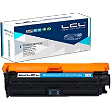 LCL(TM) CE741A 307A (1-Pack Cian) Cartuchos de Tóner Compatible para HP Color Laserjet CP5225 CP5225n CP5225dn