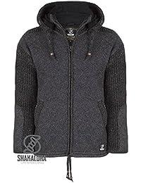 Nepal Wolljacke Strickjacke Outdoor Fleece Jacke Winter Winterjacke Schafwolle