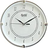 Ajanta Fancy And Designer Wall Clock For Home, Offices, Bedroom, Living Room And Kitchen (19 Cm X 19 Cm , Step Movement, White)