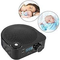 White Noise Machine, Weißes Rauschen Maschine Einschlafhilfe Tragbarer Sound Schlafen Machine mit LED Bildschirm... preisvergleich bei billige-tabletten.eu
