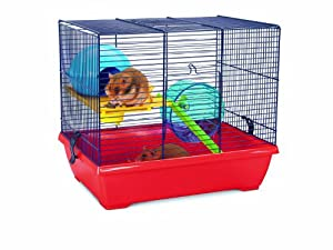 Savic Noddy Double Navy Blue Hamster Cage 42,5 X 29,5 X 37 Cm from Savic