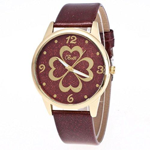 harrystore-womens-leather-quartz-dress-heart-shaped-wrist-watch-brown
