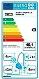 Miele Complete C3 PowerLine Bodenstaubsauger / D / Braun / Plus/Minus-Fußsteuerung / AirClean Filter / Comfort Kabelaufwicklung / 11m Aktionsradius / 3-teiliges integriertes Zubehör -