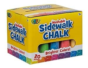 Slinky Craie de trottoir Jumbo 20/Prodige, d'autres, multicolore