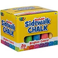 Slinky Jumbo Sidewalk Chalk 20/Pkg-,  Other,  Multicoloured