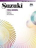 Suzuki Viola School 1 Revised, mit CD
