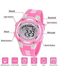 513d2a160850 Amazon.es  reloj sumergible - Rosa  Relojes
