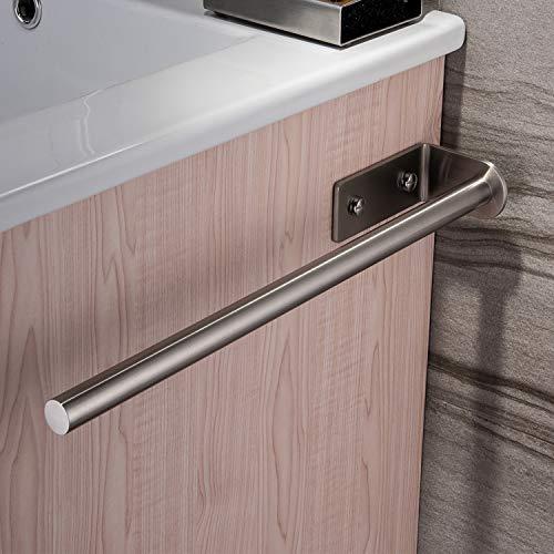 Ruicer Handtuchhalter Stange 40cm Handtuchstange Bad Wandmontage Badetuchhalter Edelstahl Gebürstet, Handtuchständer