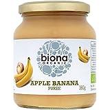 Biona Manzana Orgánica Puré De Plátano 360g (Paquete de 6)