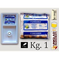 """CANDITO PER API """"FONDABEE"""" alimento superiore in pasta per apicoltura da Kg. 1 (scatola da 12 pezzi)"""