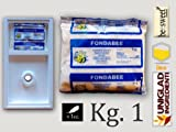 CANDITO PER API 'FONDABEE' alimento superiore in pasta per apicoltura da Kg. 1 (scatola da 12 pezzi) immagine