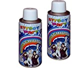 takestop Set 2 Pezzi BOMBOLETTA Spray Schiuma 150 ML Scherzo Carnevale Animazione Baby Halloween Party Festa