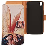 Lankashi PU Housse Case Cuir Coque Cover Etui Flip Pour Alcatel One Touch Idol 3 5.5'...
