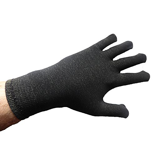 Tepso® Handschuhe Extrastark-Anthrazit-S gegen Psoriasis/Schuppenflechte und Neurodermitis