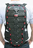 Protector de espalda Max MPH Shield II, para motocicleta, ski y snowboard
