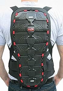 MAX MPH - Protection du dos / Dorsale pour la moto / vélo / ski - Taille L