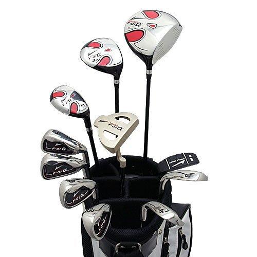 World Eagle f-01Alfa Herren Golf Komplett Set mit Weiß Tasche rechts flex-s 14teilig