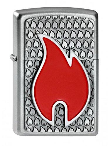 Zippo 2003961 Feuerzeug Flame Emblem (Flamme Zippo-feuerzeug)