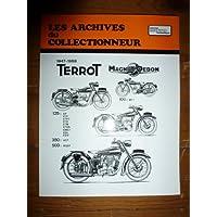 ARCRTM0009-0010 REVUE TECHNIQUE MOTOCYCLISTE ARCHIVES COLLECTIONNEUR TERROT 125 EP ETP ETPC ETD ETDS EMS1 EDL EDV 350 HCT 500 RGST
