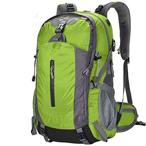 appassionati di outdoor zaino esterno della spalla sacchetto di alpinismo uomini e le donne di campeggio di corsa borsa da viaggio impermeabile zaino (50L), F A