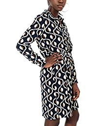 12fce44bfae20 Amazon.it  abito nero lungo - Chemisier   Vestiti   Donna  Abbigliamento