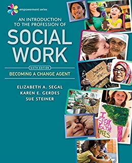 An Introduction to the Profession of Social Work: Becoming a Change Agent (1337567043)   Amazon price tracker / tracking, Amazon price history charts, Amazon price watches, Amazon price drop alerts