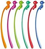 Koziol 3584004pi: p Mélangeur de Cocktail, Plastique, Multicolore, 1,8x 2,5x 17cm 6unités