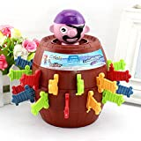 #10: Sanyal Pirate Barrel Tricky Piggy Bank Safe Bank Toy Lucky Stab Pop Up Game with Breath-taking Curiousity and Interest