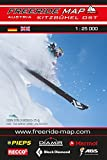 Freeride Map Kitzbühel Ost: Maßstab 1:25 000