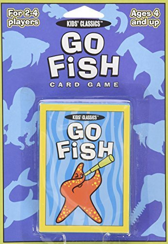 Go Fish Card Game: Part of Kids Classics Series by Wendy Boccuzzi (2001-11-01)