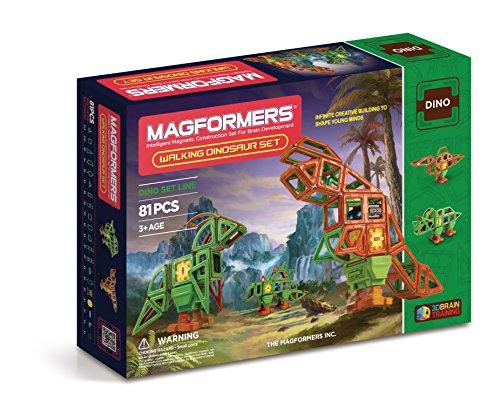 Magformers 63138 - Juego de construcción de Dinosaurios