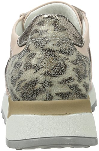Waldläufer Hiroko, Chaussures à Lacets Femme Mehrfarbig (skin bronce corda)