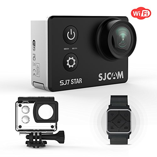 SJCAM SJ7 STAR WiFi 4K Action Camera Ambarella Chipset 30fps Sony Sensor 12MP 2