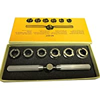 AIHOME Watch Repair Back Case Opener Tools alloy steel 5537 Remover Watchmaker Repair Kit