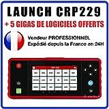 LAUNCH Interface/Valise de Diagnostic CRP229 - MULTIMARQUES - Compatible avec Peugeot, Renault, Citroën, Dacia, BMW, Audi, VW, Seat, Skoda, Mercedes, Mini, Fiat, Suzuki …