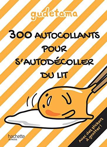Gudetama - 300 autocollants pour s'autodécoller du lit
