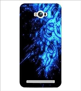 PrintDhaba Digital design D-2145 Back Case Cover for ASUS ZENFONE MAX ZC550KL (2016) (Multi-Coloured)