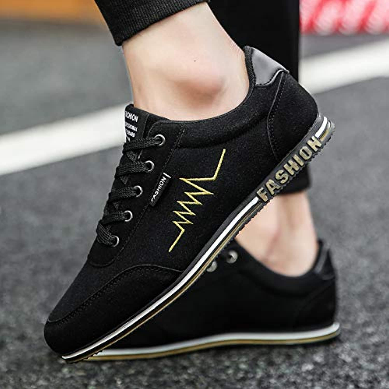 NANXIEHO Men Leisure Classic Canvas scarpe Men Trend Student Flat scarpe da ginnastica | vendita di liquidazione  | Gentiluomo/Signora Scarpa